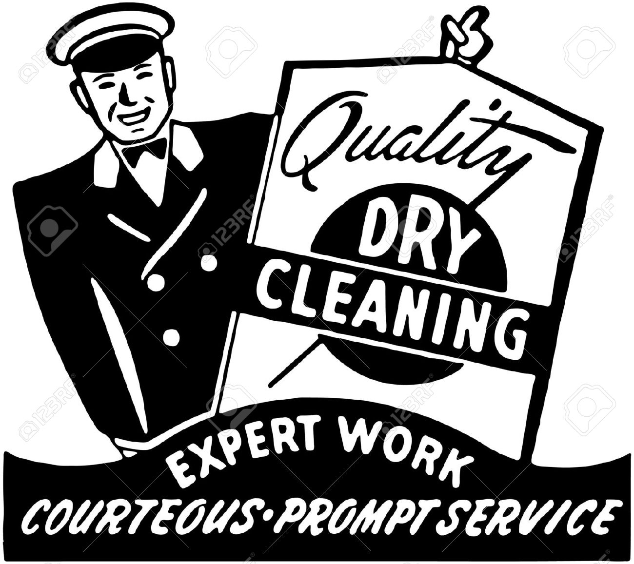 Dry cleaning clipart.