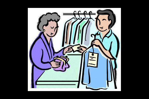 Dry Cleaning Clip Art.