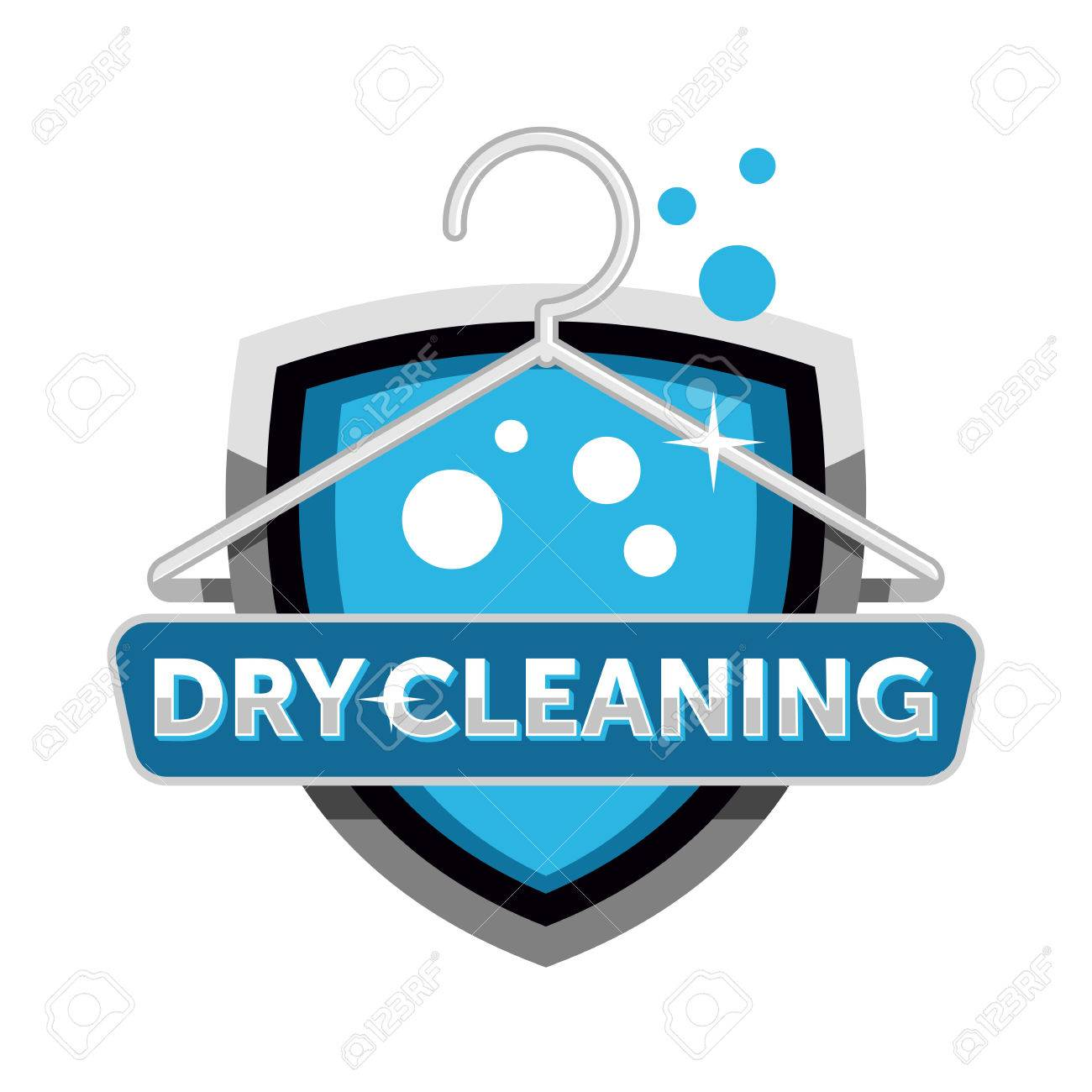 dry cleaning logo.