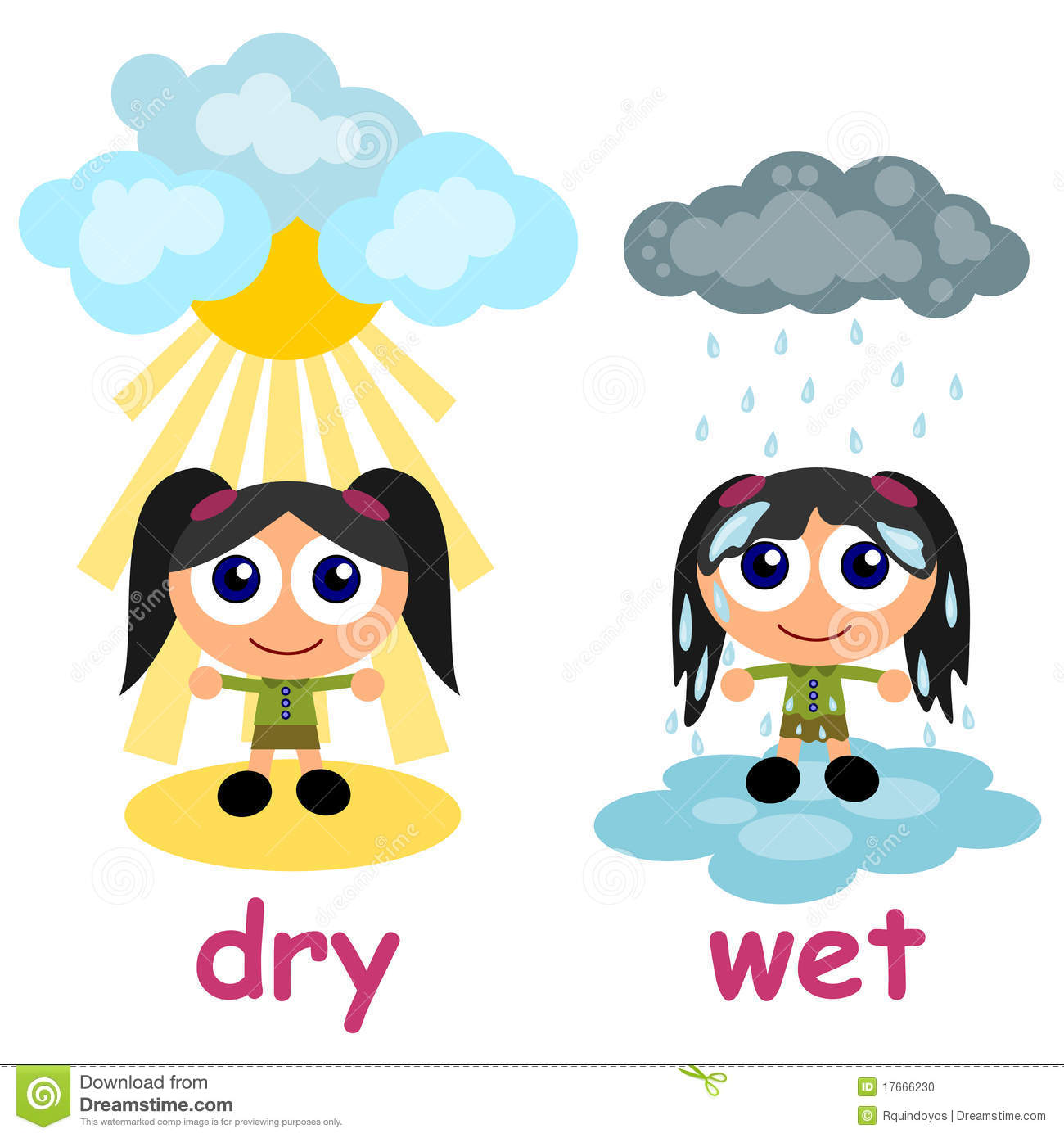 Dry clipart.