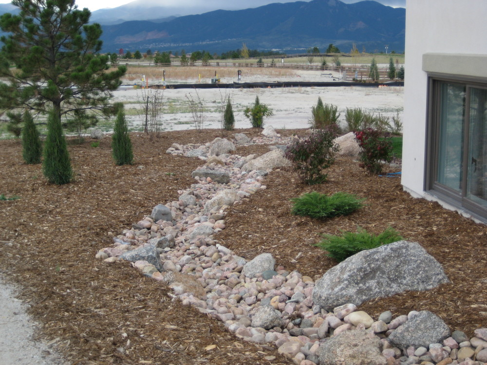 Dry Creek Beds for landscaping.