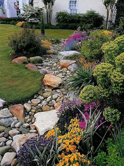 50 Super Easy Dry Creek Landscaping Ideas You Can Make!.