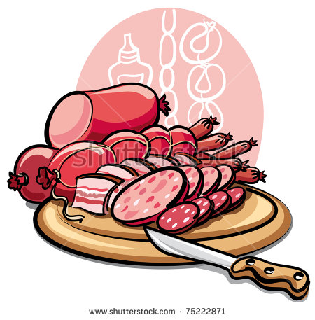 Ham Dish Stock Photos, Royalty.
