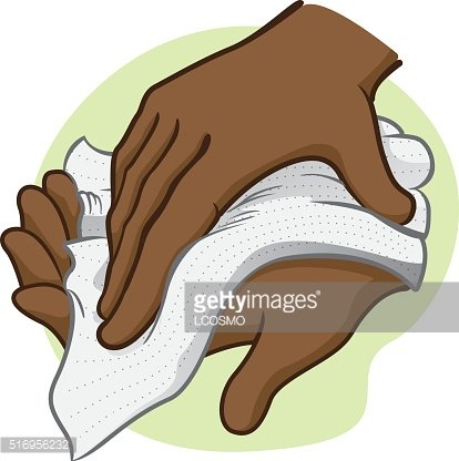 Napkin clipart dry hand, Napkin dry hand Transparent FREE.