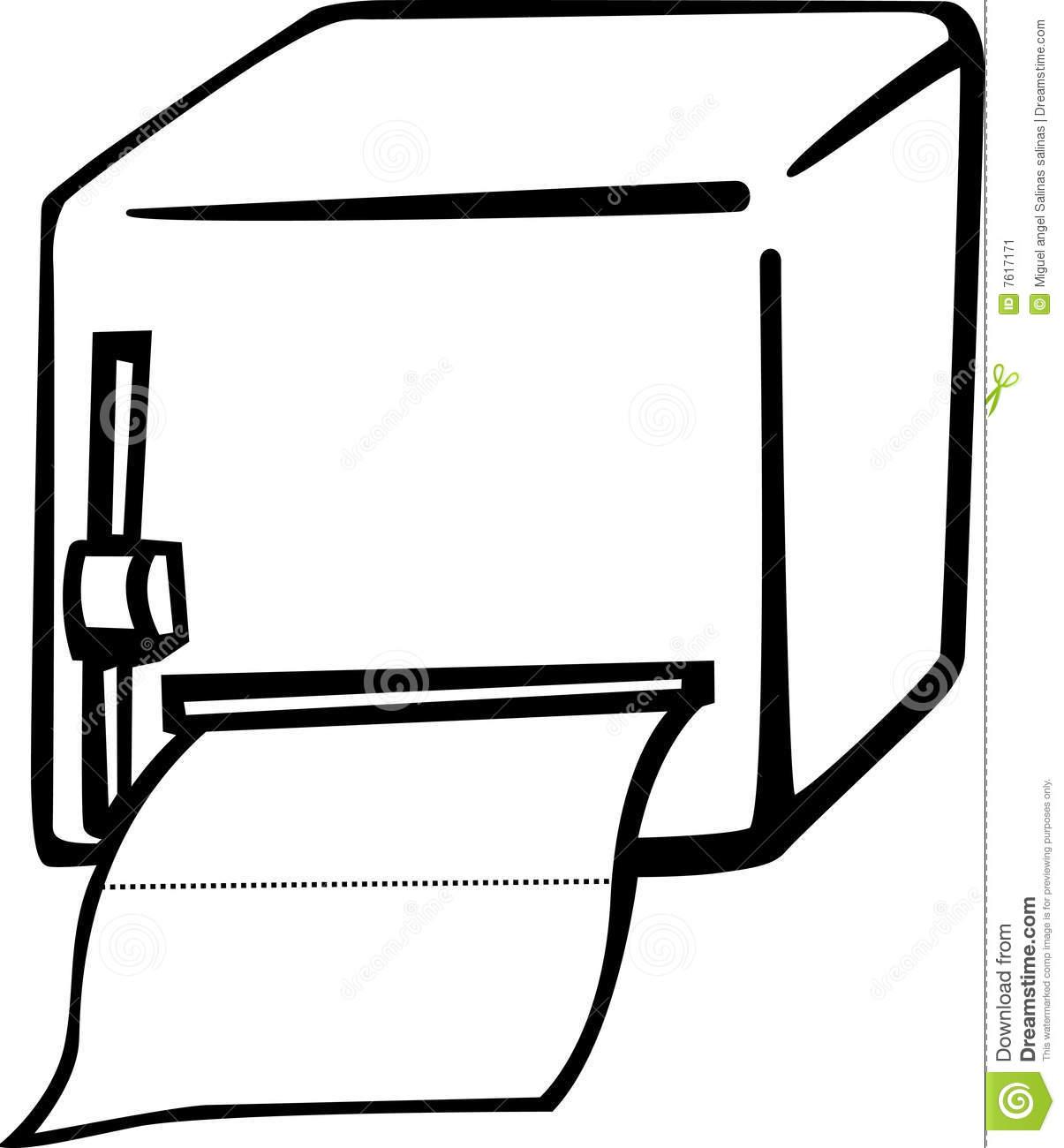 Paper Towel Dispenser Clipart.