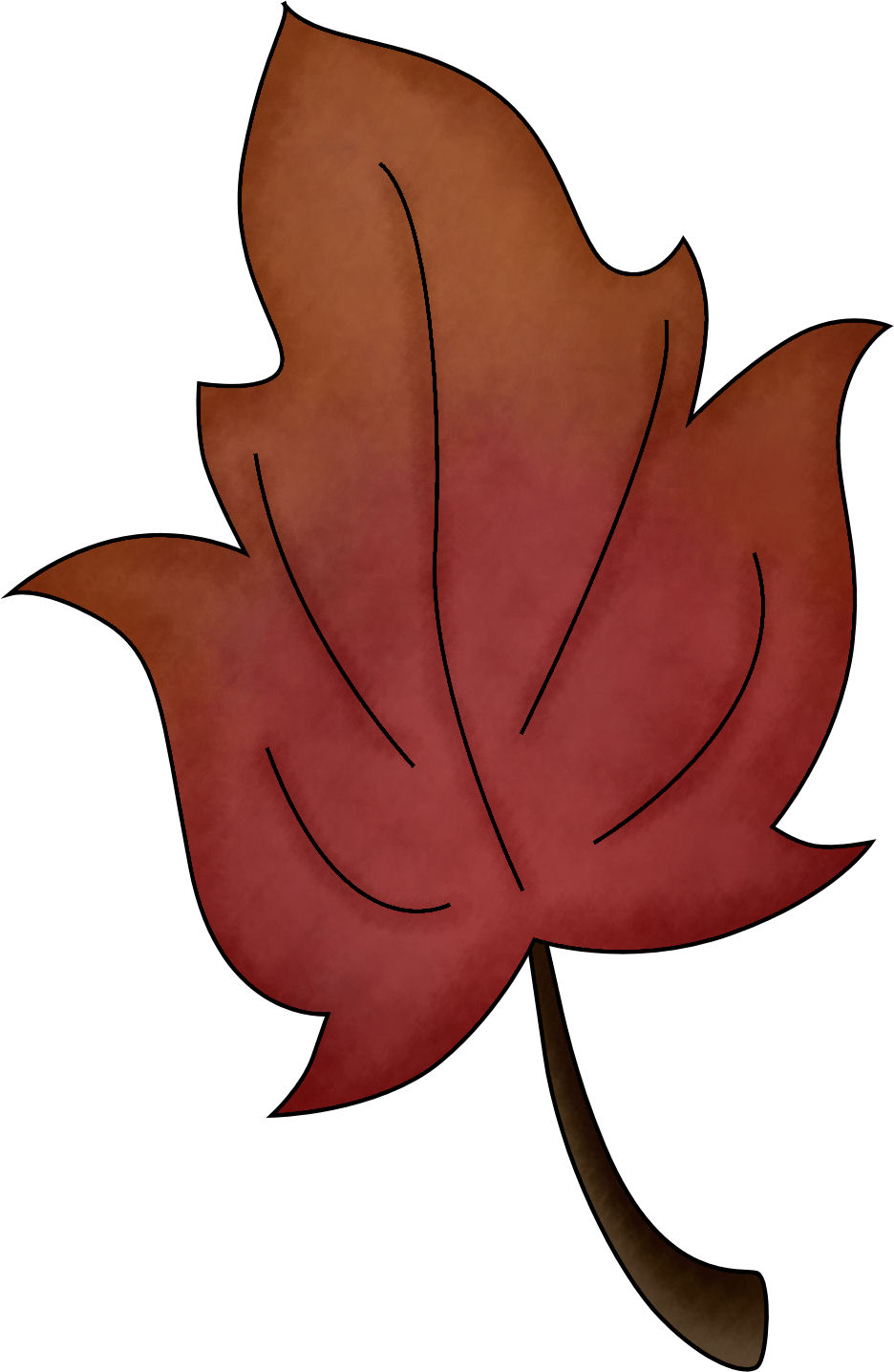 Autumn Leaf Clipart.