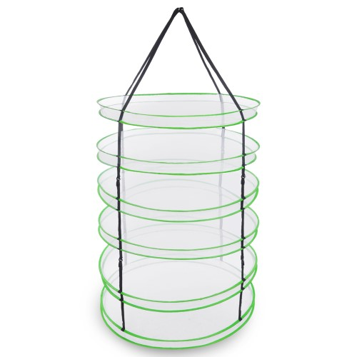 6 Layer Compartments Collapsible Hanging Dry Net Herb Herbal.