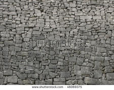 Ancient Stone Wall Stock Photos, Royalty.