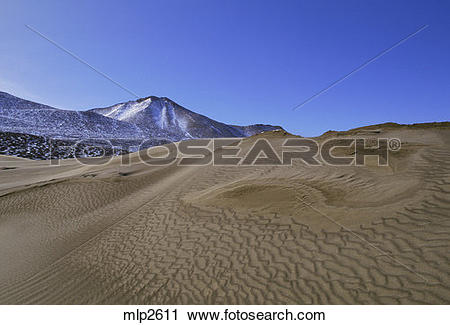 Stock Photography of Sand dunes in Victoria Valley, Dry Valleys.