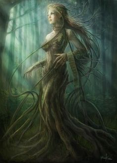 Dryad live clipart.
