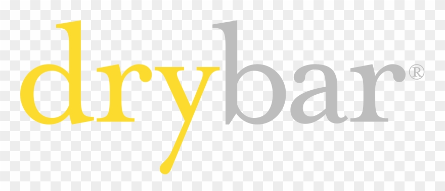 Color Transparent Drybar Logo.
