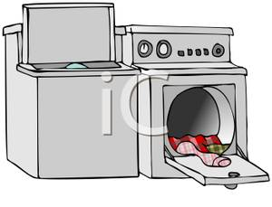 Washer and Dryer Clip Art.