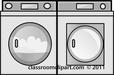 Clipart washer and dryer.