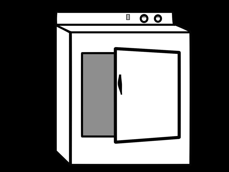 Clothes Dryer Clipart.