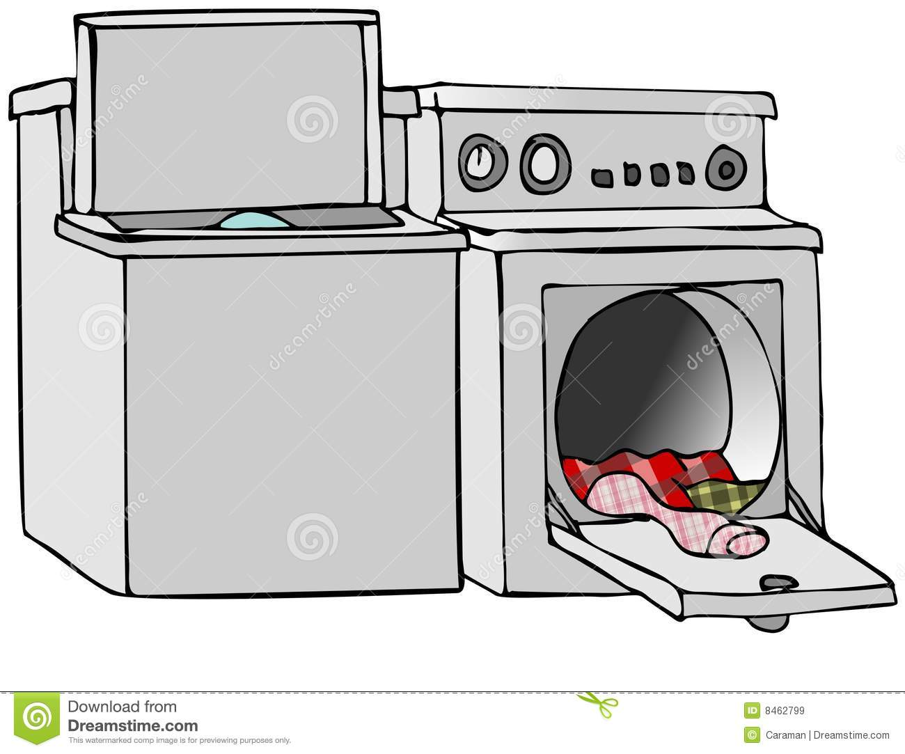 Clothes Dryer Clip Art ~ Dryer clipart clipground