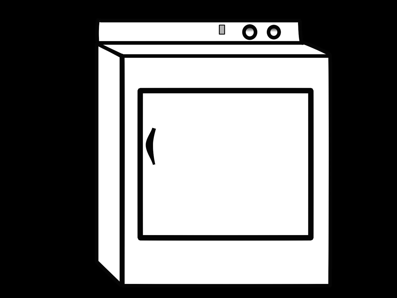 Dryer clipart.