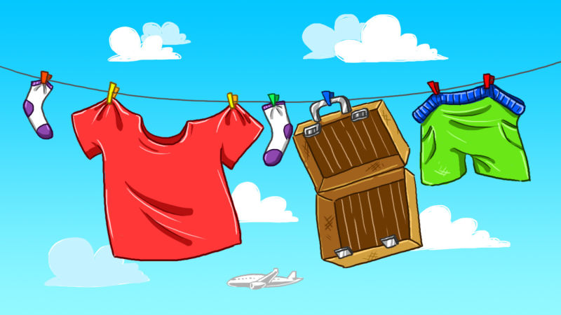 Drying clothes clipart 7 » Clipart Station.