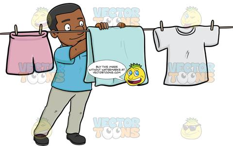Laundry clipart dried, Laundry dried Transparent FREE for.
