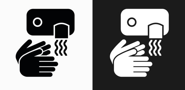 Best Drying Hands Illustrations, Royalty.