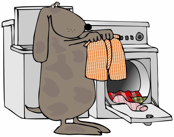 Clothes Dryer Clip Art ~ Drying laundry clipart clipground