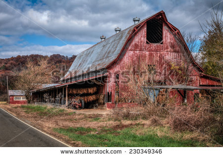 Red Barn Roof Stock Photos, Royalty.