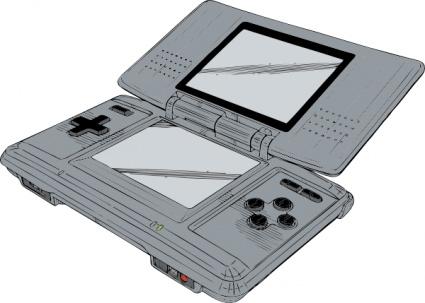 Nintendo Ds clip art Clipart Graphic.