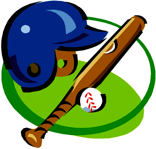 Softball Game Clip Art.