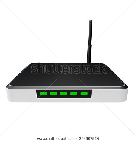 Dsl Modem Stock Photos, Royalty.