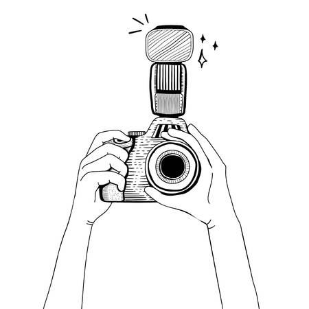 6,308 Dslr Camera Cliparts, Stock Vector And Royalty Free Dslr.