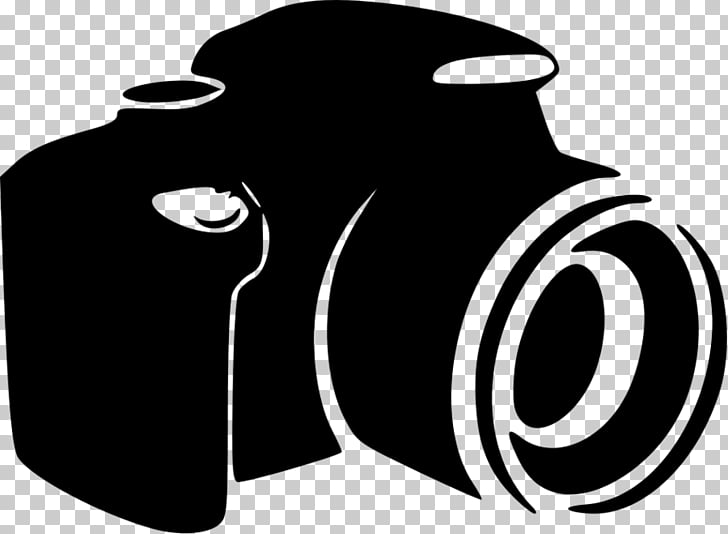 Camera Photography , lens , black DSLR camera graphic PNG.