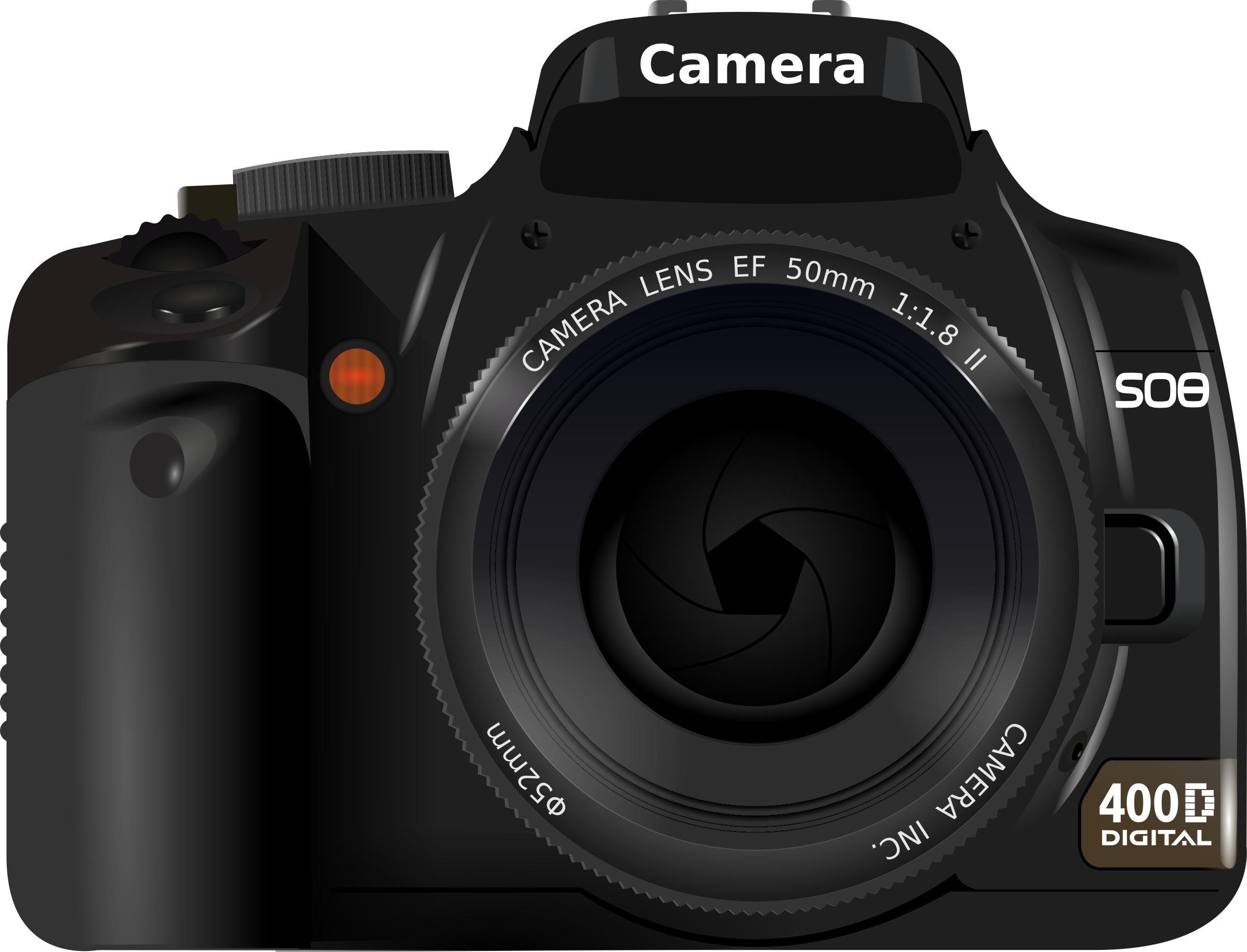 DSLR Camera Icons PNG.