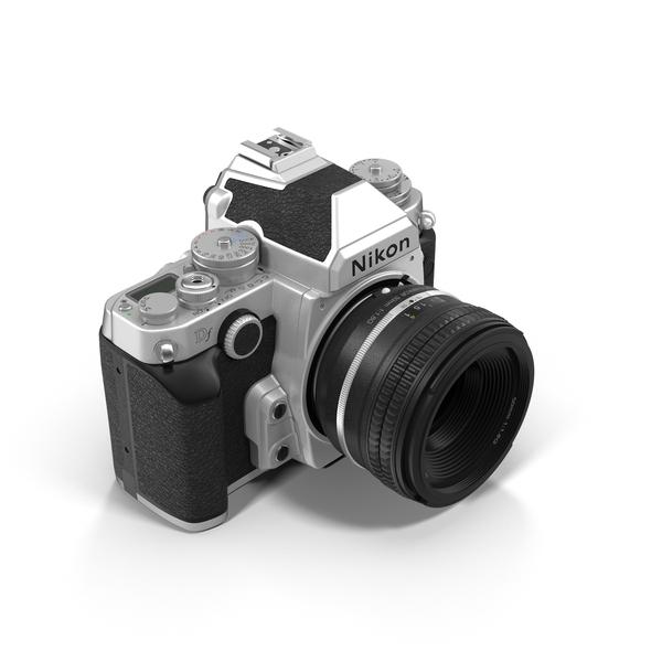 Nikon DF DSLR Camera PNG Images & PSDs for Download.