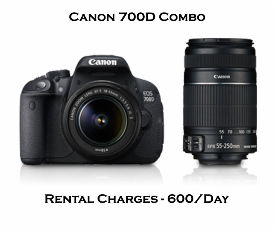 Canon Camera 700d Price , Png Download.
