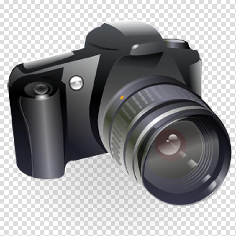 Canon EOS Digital SLR Camera , Camera transparent background PNG.