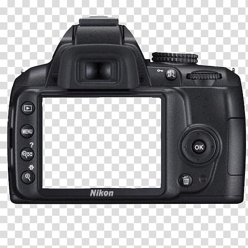 BLACK RESOURCESFORBITCHES, black Nikon DSLR camera transparent.