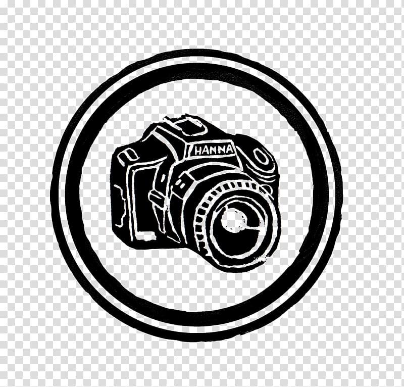 DSLR camera illustration, Camera Logo , Logo Kamera transparent.