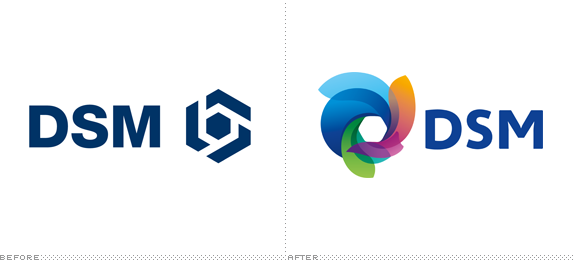Brand New: Colorful Corporate Vortex.