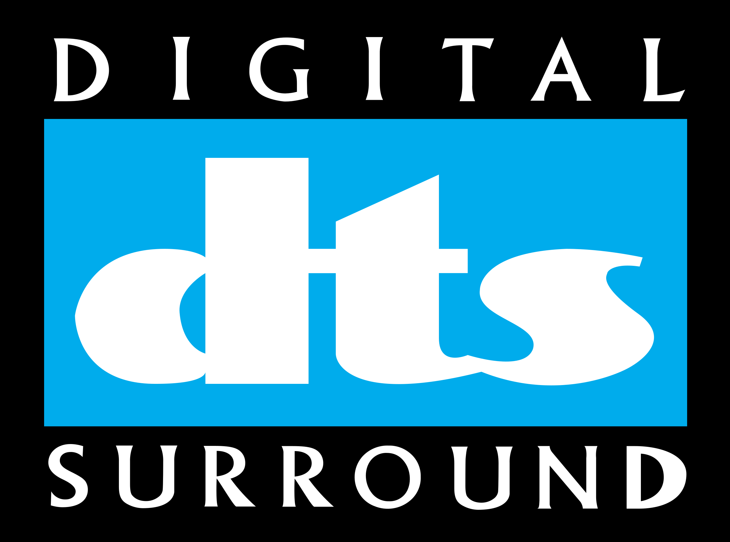 DTS DIGITAL SURR 1 Logo PNG Transparent & SVG Vector.