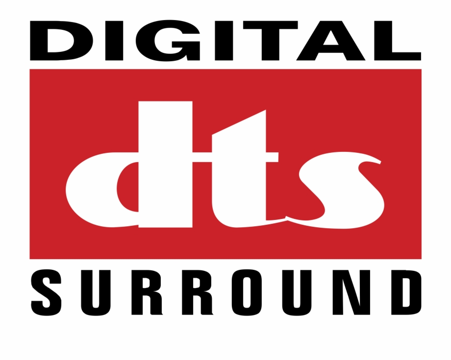 Digital Dts Surround Logo Png Transparent.