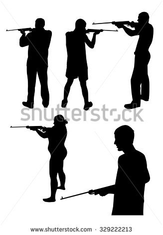 Female Shooter Stock Vectors, Images & Vector Art.