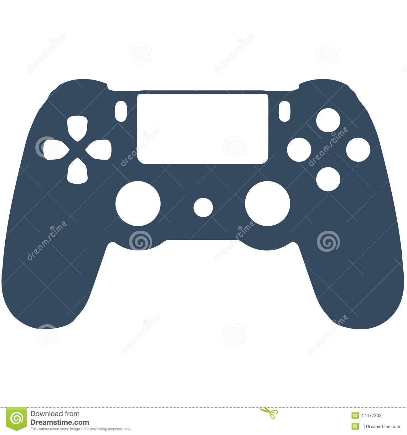 Controller clipart playstation 4 controller, Controller.