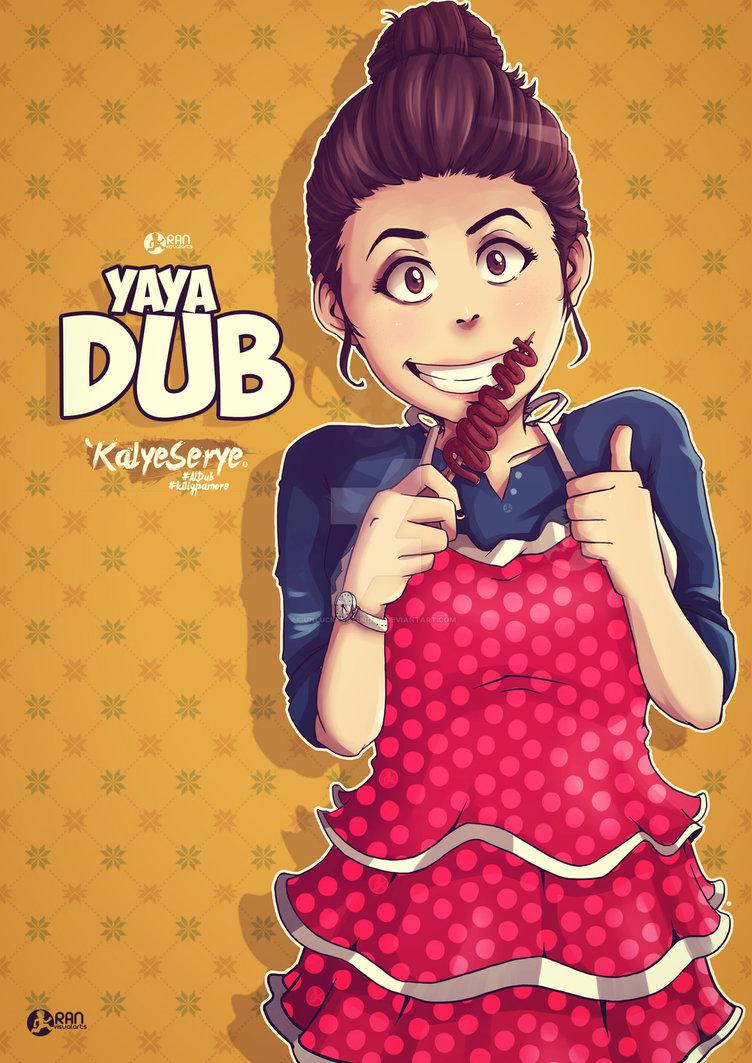 Yaya Dub by unLuckySaturday on DeviantArt.