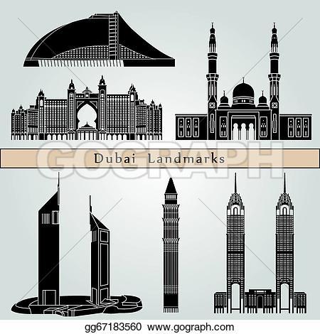 Dubai Clip Art.