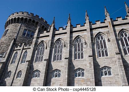 Pictures of Dublin Castle.