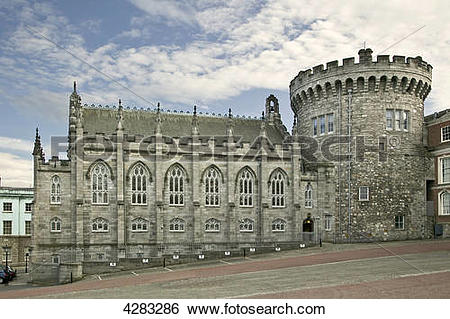 Stock Images of Dublin Castle, Ireland 4283286.