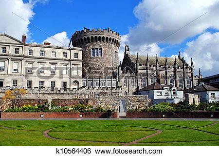 Stock Images of Dublin Castle k10564406.