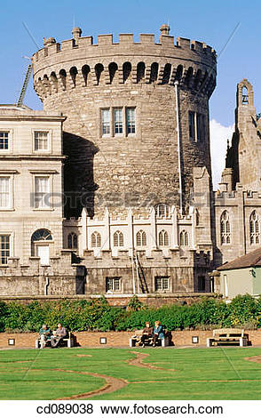 Pictures of The Record Tower. Dublin Castle. Ireland cd089038.