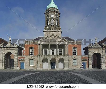 Stock Photo of Dublin Castle k22432962.