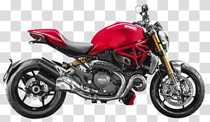 Ducati Monster 821 transparent background PNG cliparts free.