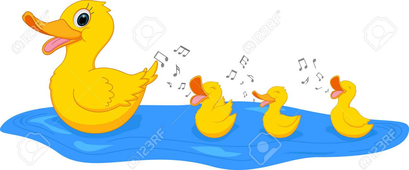 Duck and duckling clipart 9 » Clipart Station.